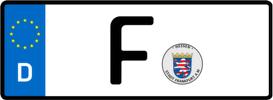 Frankfurt Kennzeichen